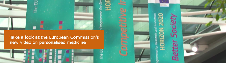 Take a look at the European Commission's new video on personlised medicine